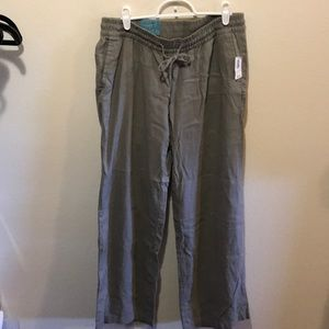 Gray Linen Pants